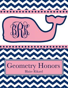 One Personalized Monogrammed Vineyard Vines Inspired Binder Cover (Individual JPEG File) on Etsy, $2.50 vineyard vines patterns, vineyard vines binder cover, monogram vineyard vines, person monogram, monogram binders, binder covers school, monogram designs, monogramed binder, monogram school