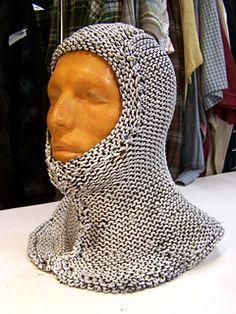 Chainmail Hood Knitting Pattern : Knitting on Pinterest Knitting, Ravelry and Free Knitting