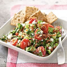 Wheat Berry Salad with Goat Cheese | CookingLight.com