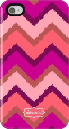Clairebella iPhone 5 Case in Tribal Berry