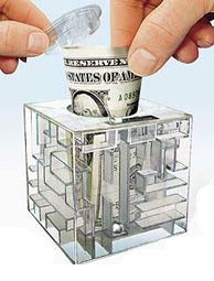 Money Puzzles - Money Maze, Gift Box | SeriousPuzzles