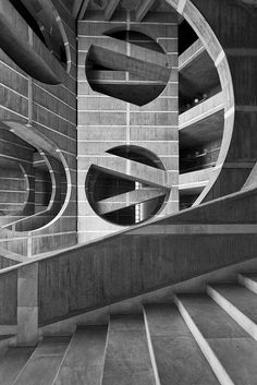 National Assembly of Bangladesh in Dhaka by Louis Kahn.
