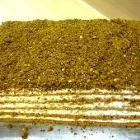 Latvian soured cream, walnut and honey cake @ allrecipes.co.uk