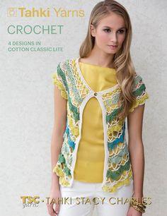 tahki staci, fabul fiber, suppli knitter, crochet vests, crochet pattern