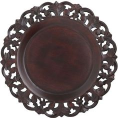 Baroque Carved Charger