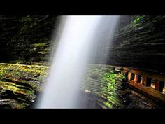 Sights and sounds of Watkins Glen State Park (Finger Lakes Wine Country)