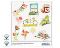 Classic Summer Digital Embellishments for StoryBook Creator