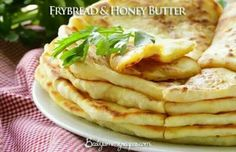 Fry bread and honey butter