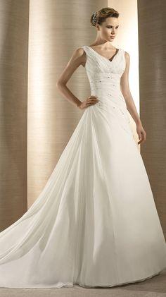 Atelier Diagonal Bridal Gown Style - Olimpia