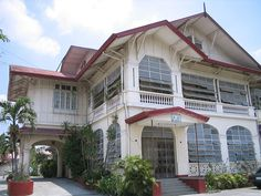 """""""This stone house is originally owned by the couples Luis Wenceslao Dison and Felisa Hizon. It was purchased by the Archdiocese of San Fernando, Pampanga and is now being used as the Archdiocesan Chancery. This old house is located in San Fernando City, Pampanga."""""""