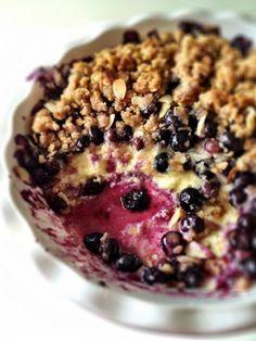 blueberry cream cheese crisp!!