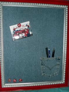 Denim Magnet Board