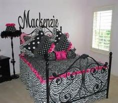 zebra bedroom ideas - Bing Images @Rachel Howley  thought of you guys when I saw this ;)