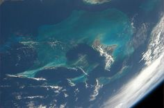 The Bahamas – I never get bored of seeing views from space