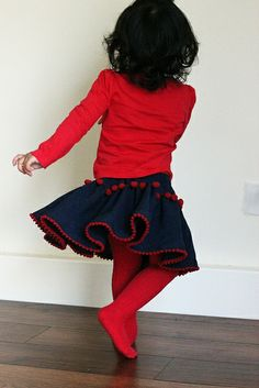 Nirma skirt free pattern by widicreations
