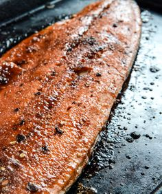 Spicy Brown Sugar Salmon