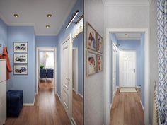 Интерьер однокомнатной квартиры с двумя детьми