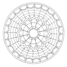 Link doesnt take you directly to the page. Stained Glass Window Coloring Page