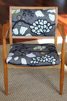 the fabric on this chair is fantastic.