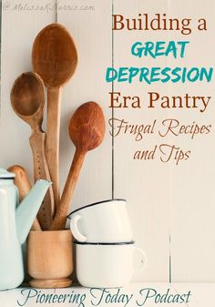 During the Great Depression, people learned how to get by on very little. Learn how to create a frugal pantry like they did during the Great Depression. I love the story of her father growing up during the Great Depression and how it still forms how he does things today. We could all stand to learn from those lessons. These handed down recipes sound awesome and very frugal. If you're trying to create a frugal and healthy pantry and kitchen, you need to read this now!
