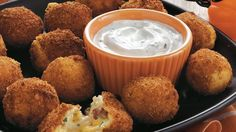 Cheesy Mashed Potato Balls