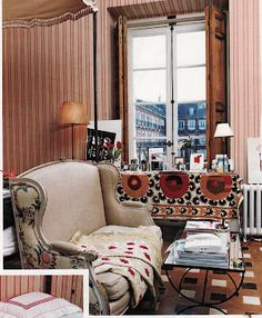 The Madrid Bedroom of Carolina Herrera, Jr.