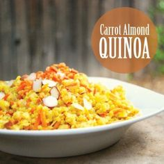 Carrot Almond Quinoa Recipe