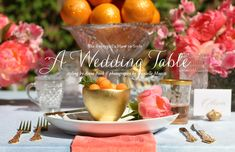 How to Style A Wedding Table // Styling by Anne Book, Owner of Anne Book Signature Style Event Planning