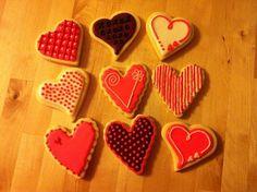 Biscuits St-Valentin / Valentine cookies