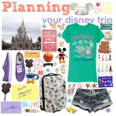 Planning your Disney trip ♥, created by disneyworld on Polyvore