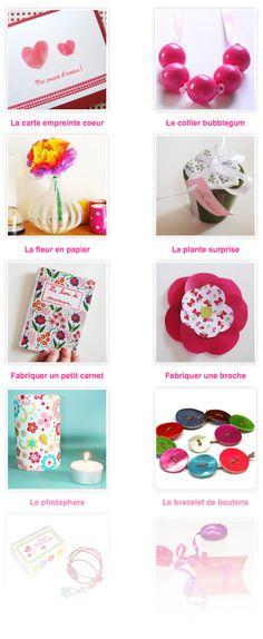 Le plein d'idées pour la Fête des Mères - Le blog de momes.net