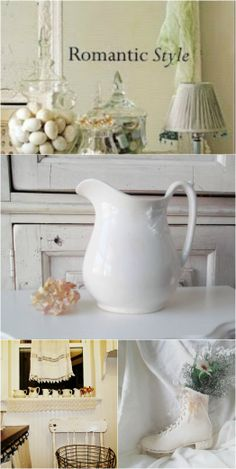 Shabby chic Farmhouse vintage decoration