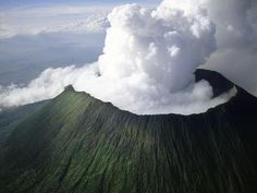 congo, uganda, mountain, nature, chain, national parks, volcanoes, place, africa