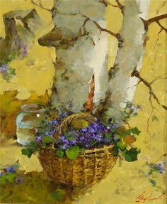 kunst, flowersviolet, emozionart, galleri, paint, shumilov, artist, artwork, aspen