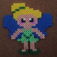 Tinker Bell perler beads by beckyhiggy