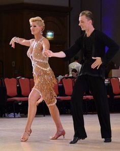 The Rumba with Mikolay Czarnecki and Charlene Proctor at the 2013 First Coast Classic in Jacksonville, Florida.  Photo by Stephen Marino.