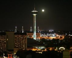Space Needle in San Antonio, Texas