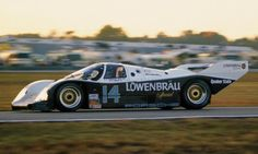 1987, Porsche is at full power, taking the top six spots. The winner is the Robinson/Bell/Unser Jr./Holbert 962.