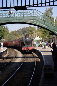 Pickering Station, North York Moors Railway.