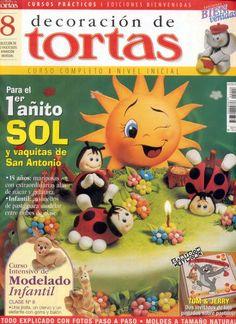 . revista interesant, magasin tidningar, figurin fondant, clay idea, interesant de, clay inspir, cake topper