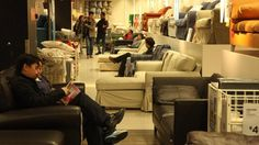 What's Ikea for? In China, it's for naps. Cultural differences in appropriate behavior (click thru to see more)