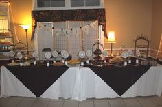 Milk and cookies bar for wedding open house
