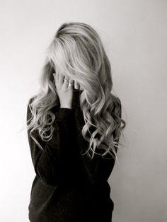 Tumbling blonde.