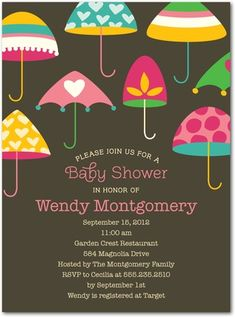 baby shower invitation ideas for girls | Baby Shower Invitation Ideas | Baby Boy, Baby Girl & Couples Baby ...