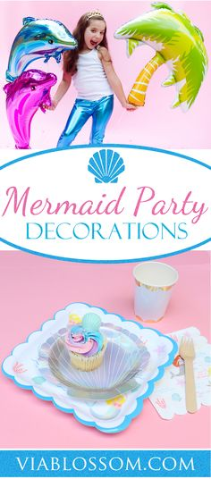 Mermaid Party Decora