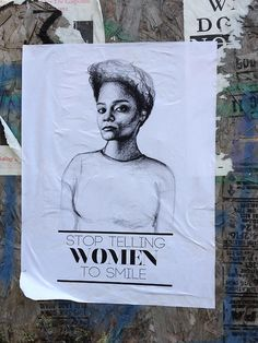 Stop telling women to smile!