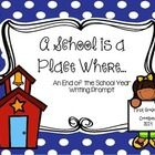 """This is a free sample of the larger resource """"Before We Say Goodbye"""". Children need time for reflection and closure! This graphic organizer and wri..."""
