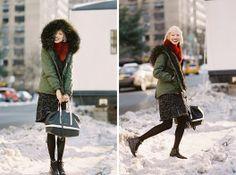Vanessa Jackman: New York Fashion Week AW 2014....Soo Joo