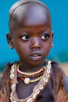Beautiful Ethiopian girl