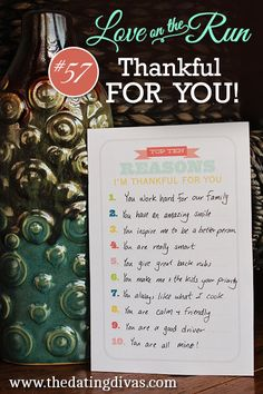 Thankful for you printable
